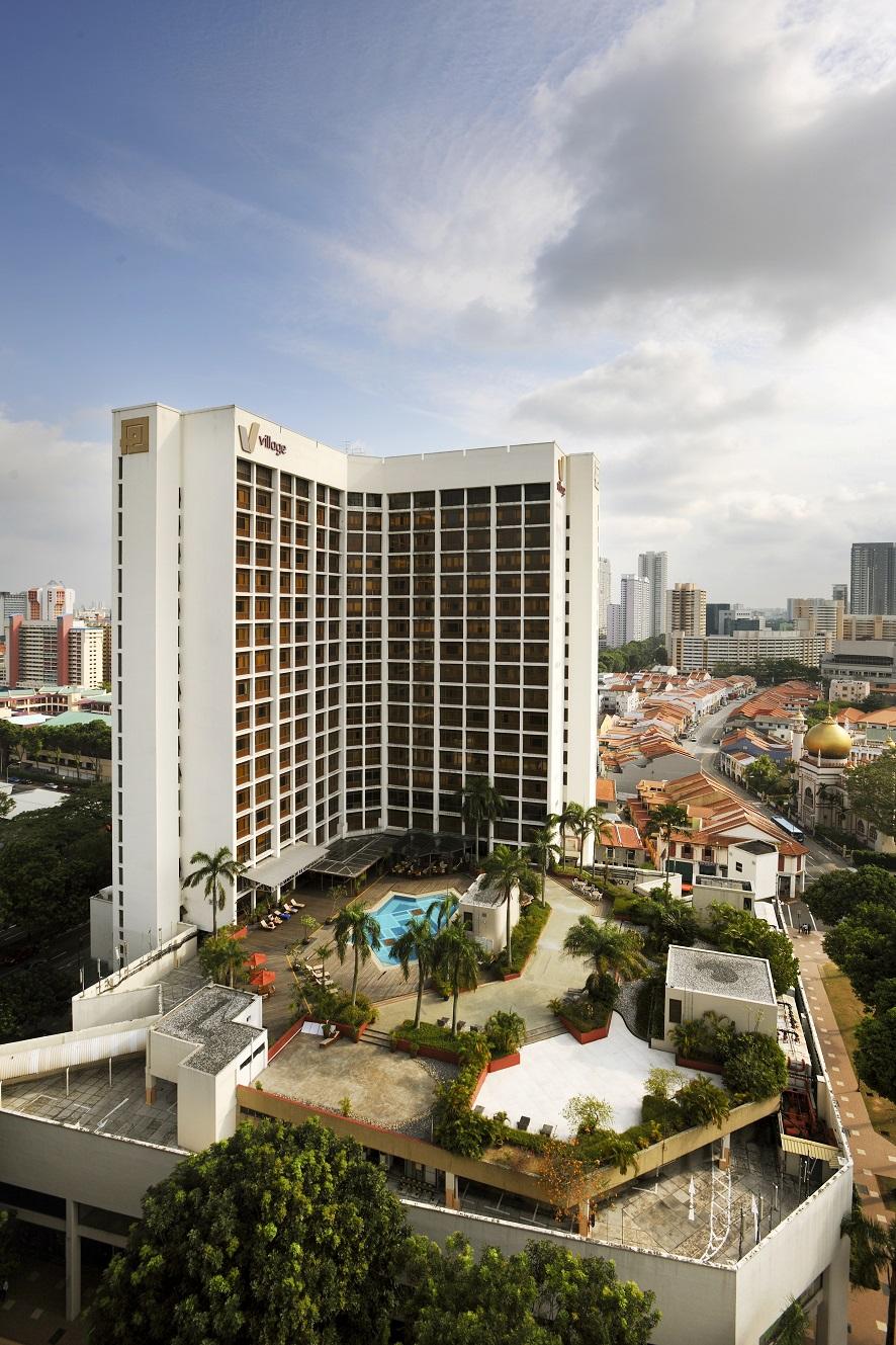 シンガポールで一番大きいモスクに近接し、観光客利用も多いビレッジホテル・ブギス
