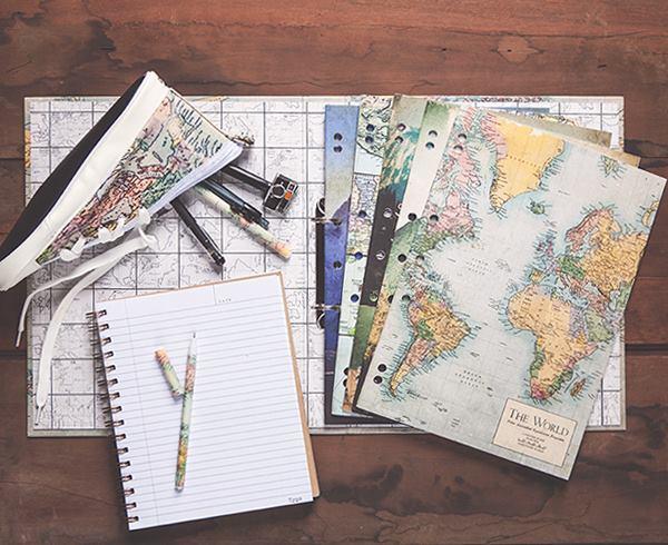 地図柄ノート