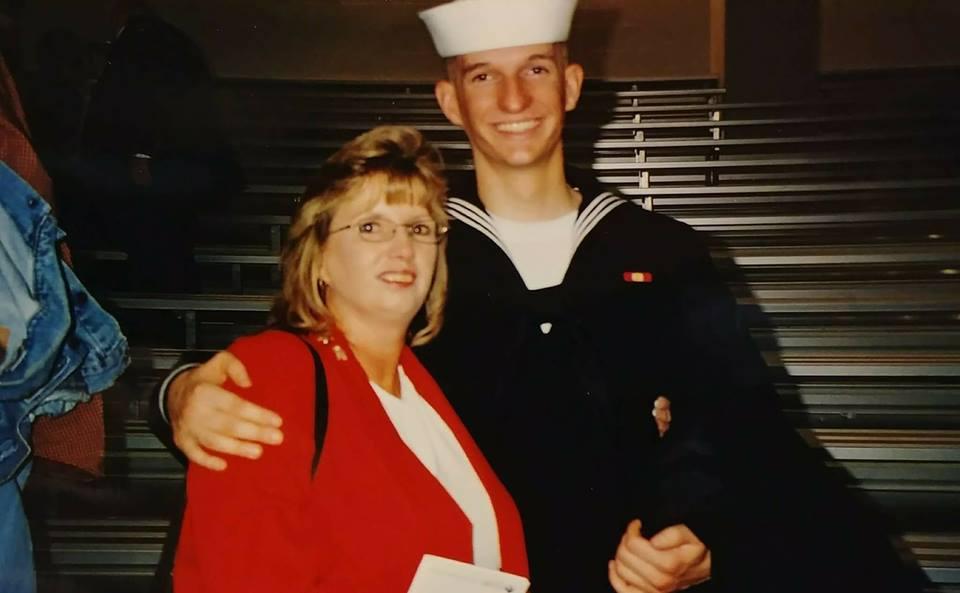 アメリカ海軍時代のMatthew氏