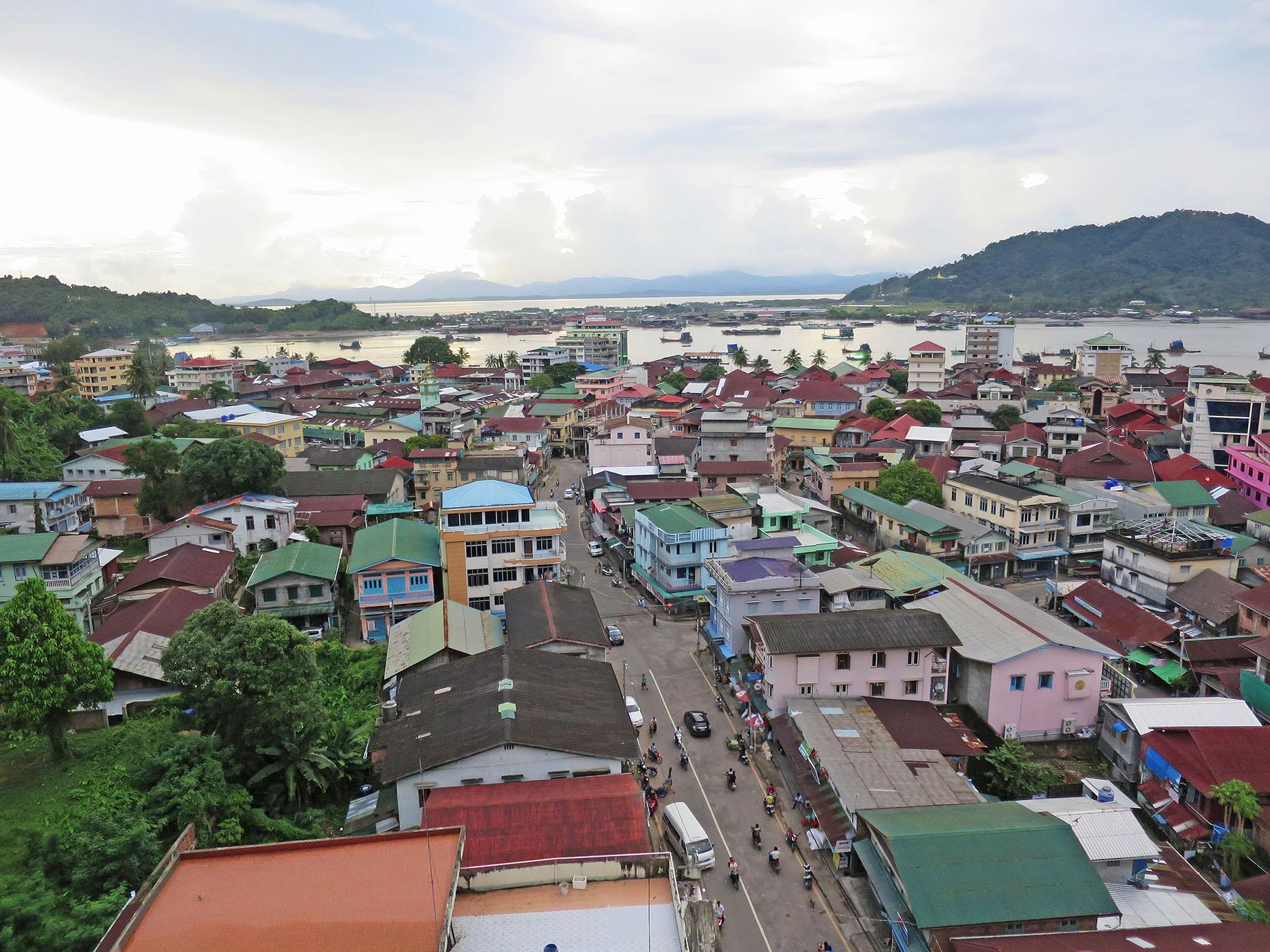 タニンダーリ地方の中心都市である港町ベイッ