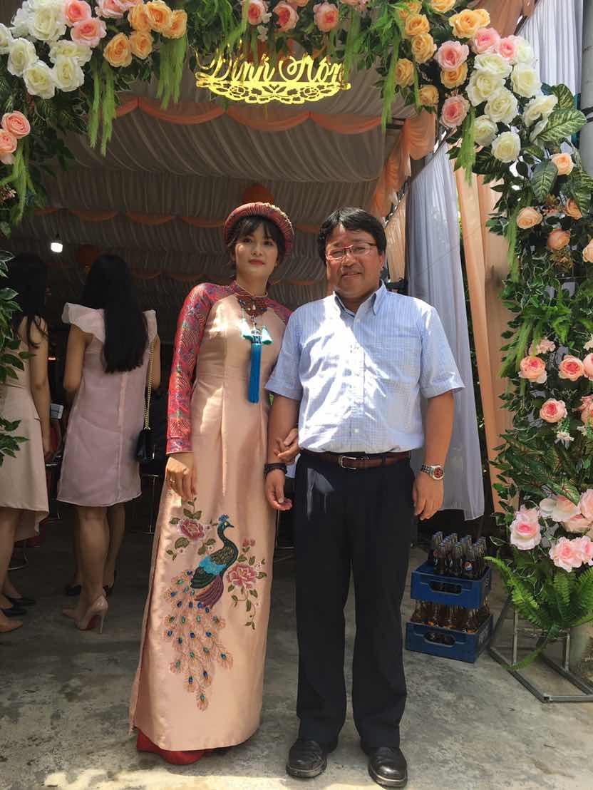秘書Haoさんの婚約式にて
