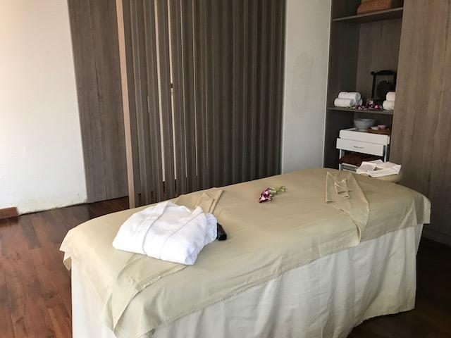 快適な施術ベッド