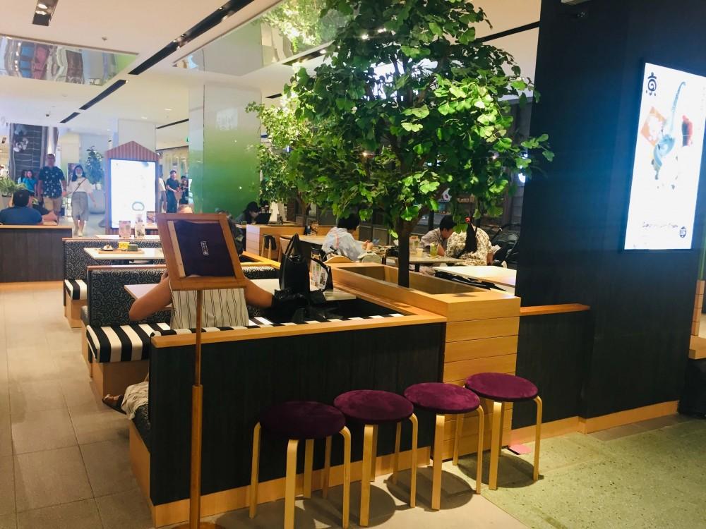 バンコクで人気の日本抹茶スイーツの京ロール園