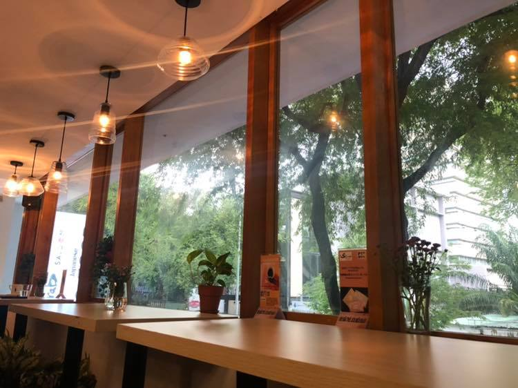2号店である「Scarab SAIGON Japanese Tea Cafe& Dining」