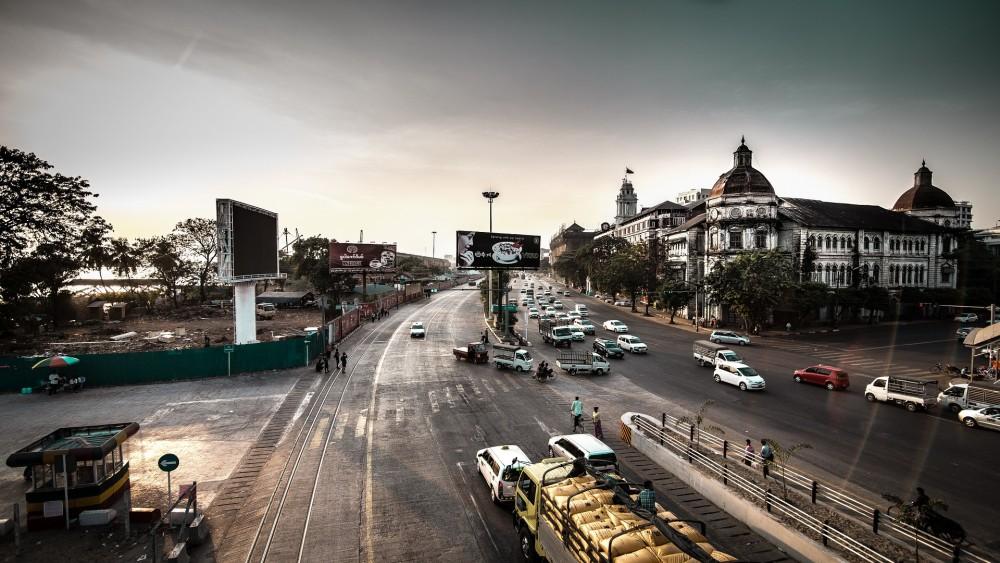 ミャンマー市内