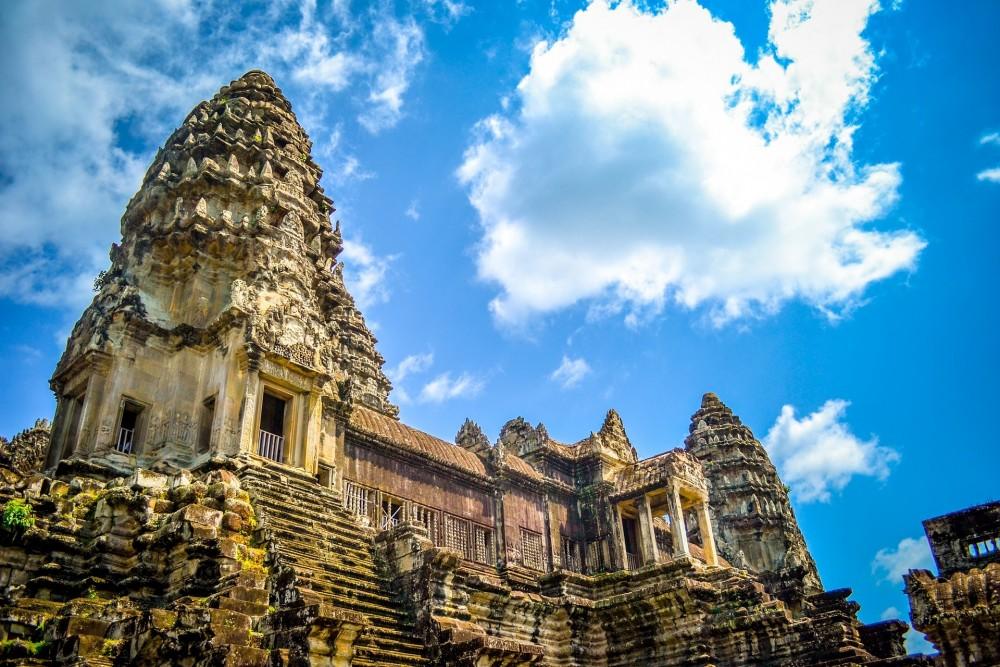 カンボジア古代遺跡