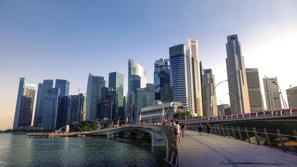 シンガポール中心街