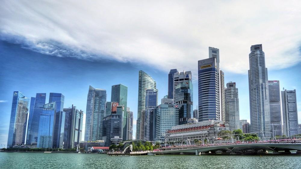 シンガポール高層ビル