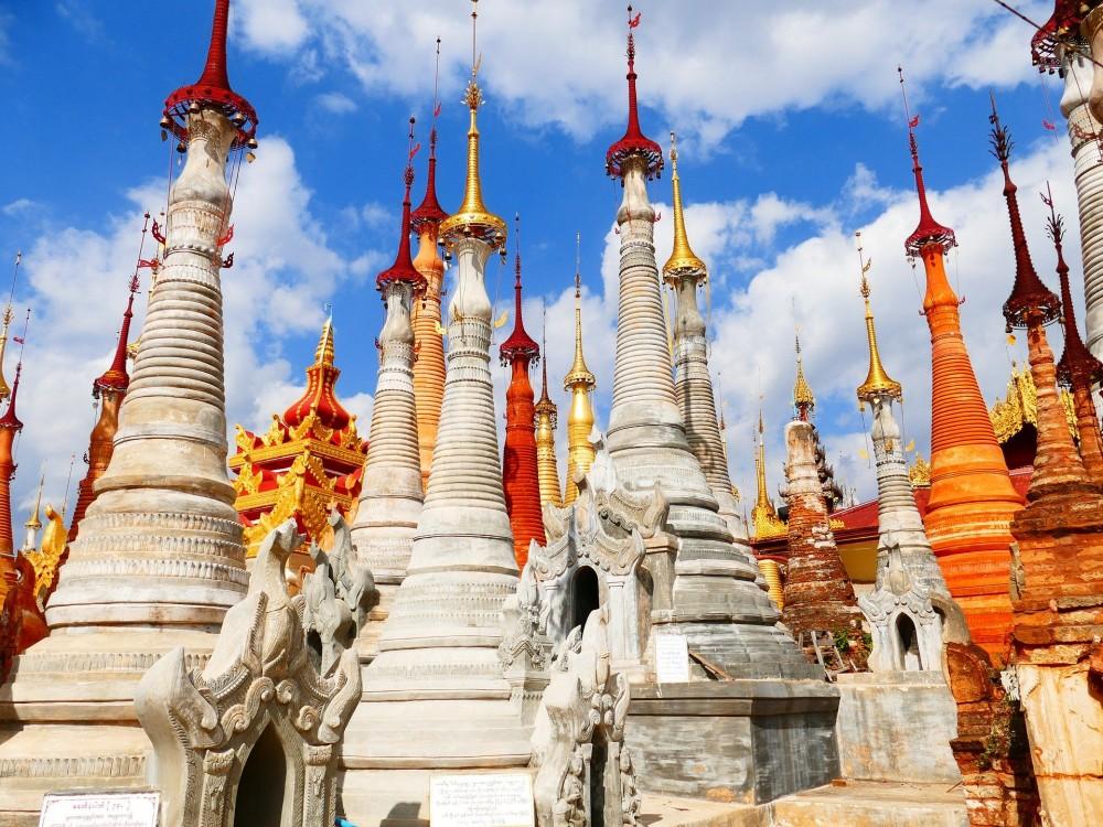 ミャンマー 仏塔