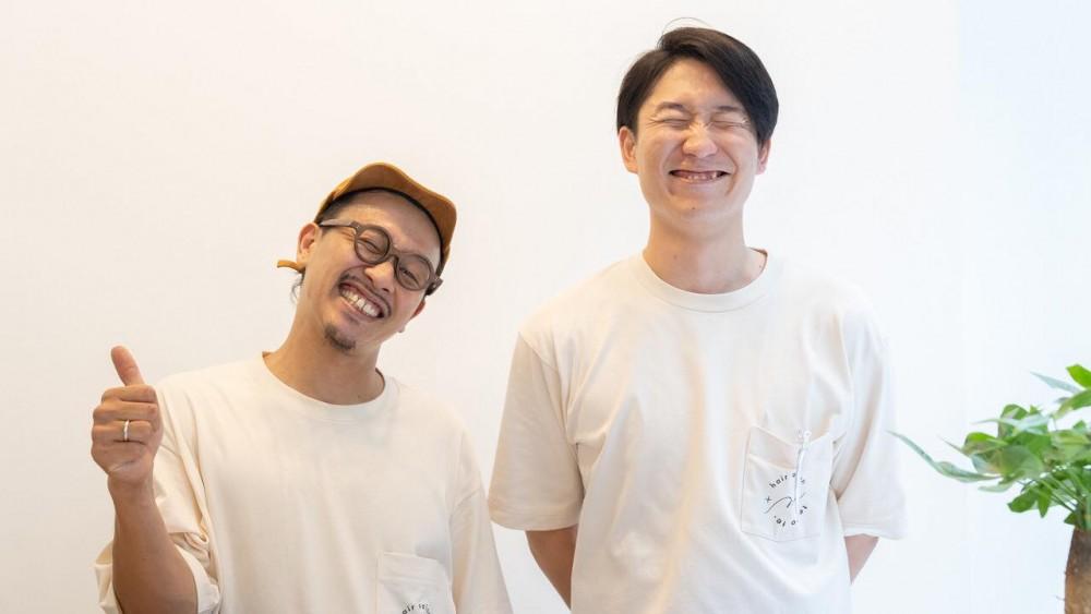 左:オーナーの阪下さん、右:スタイリストの西川さん