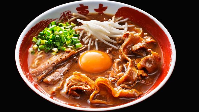 徳島産黒醤油 醤油とんこつラーメン