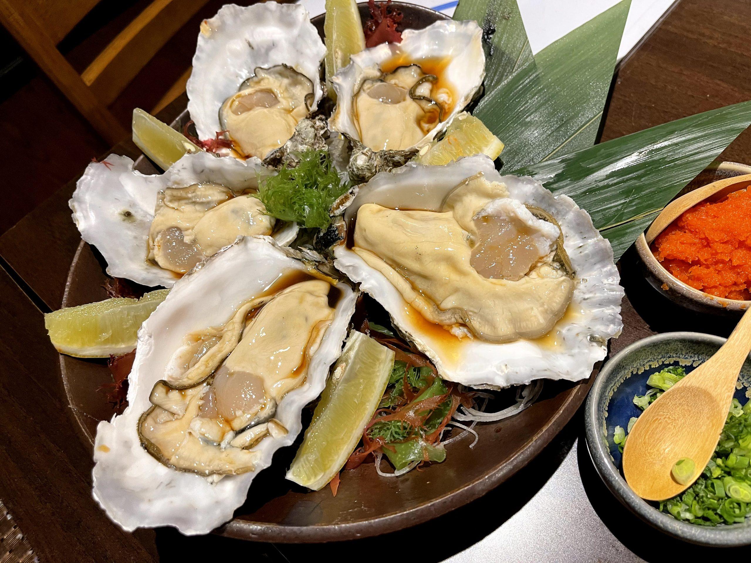 三陸 牡蠣 バンコク