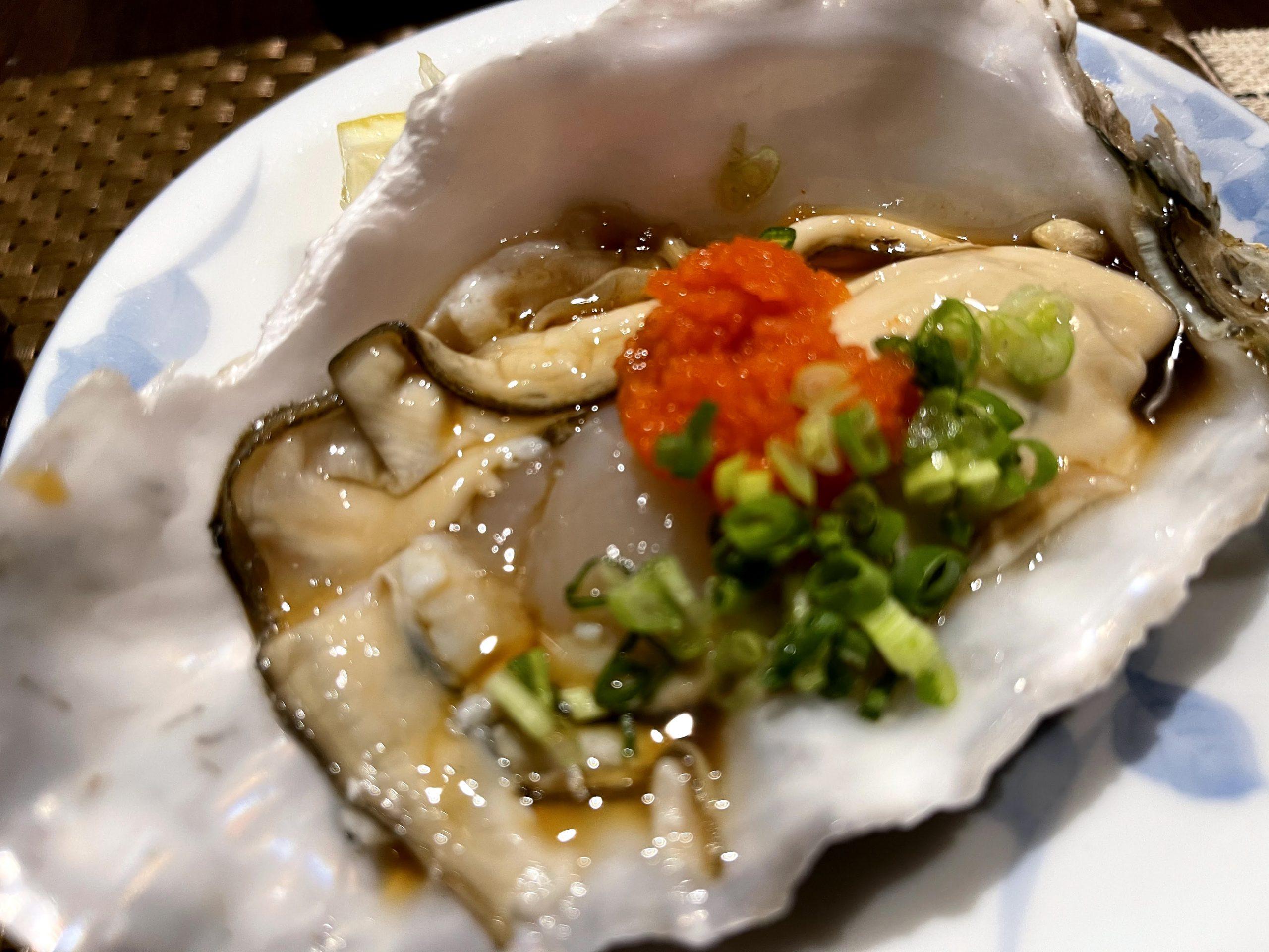 三陸 バンコク 生牡蠣