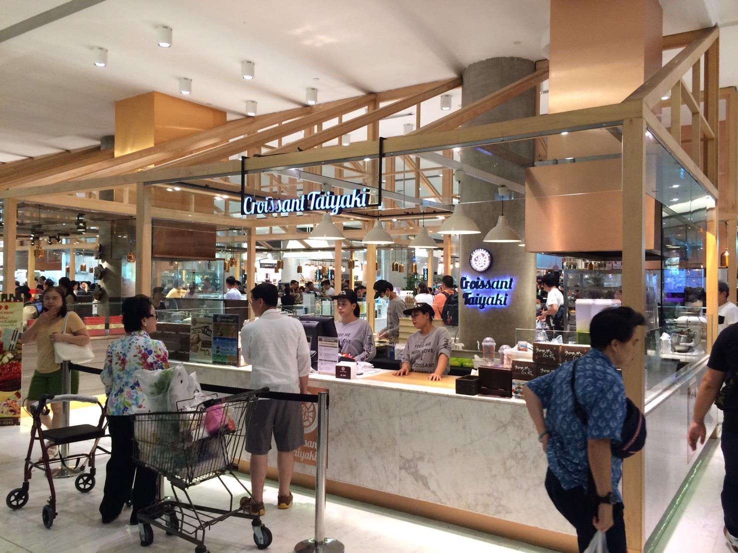 銀のあん Croissant Taiyaki エムクオーティエ店