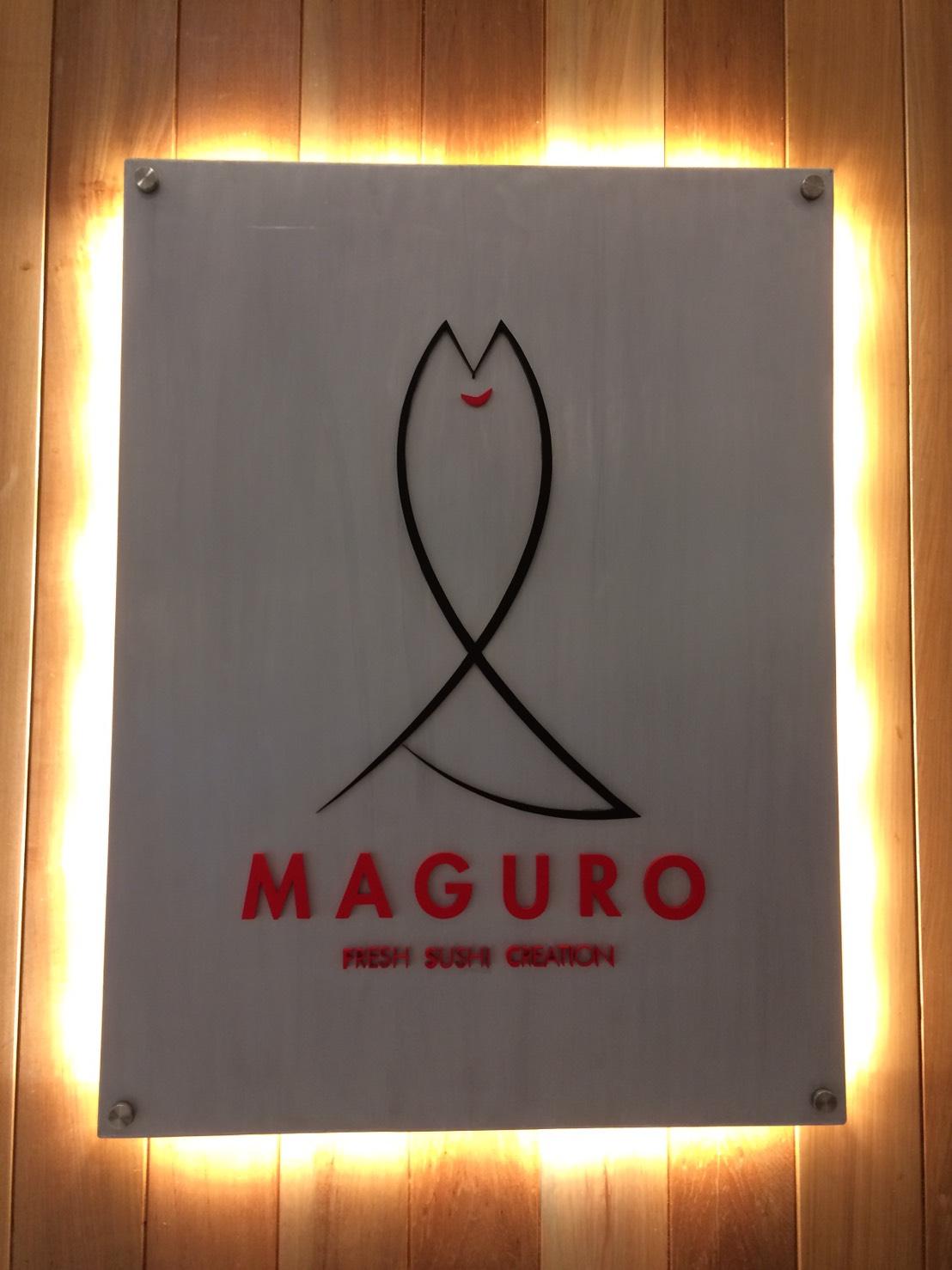 MAGURO SUSHI看板