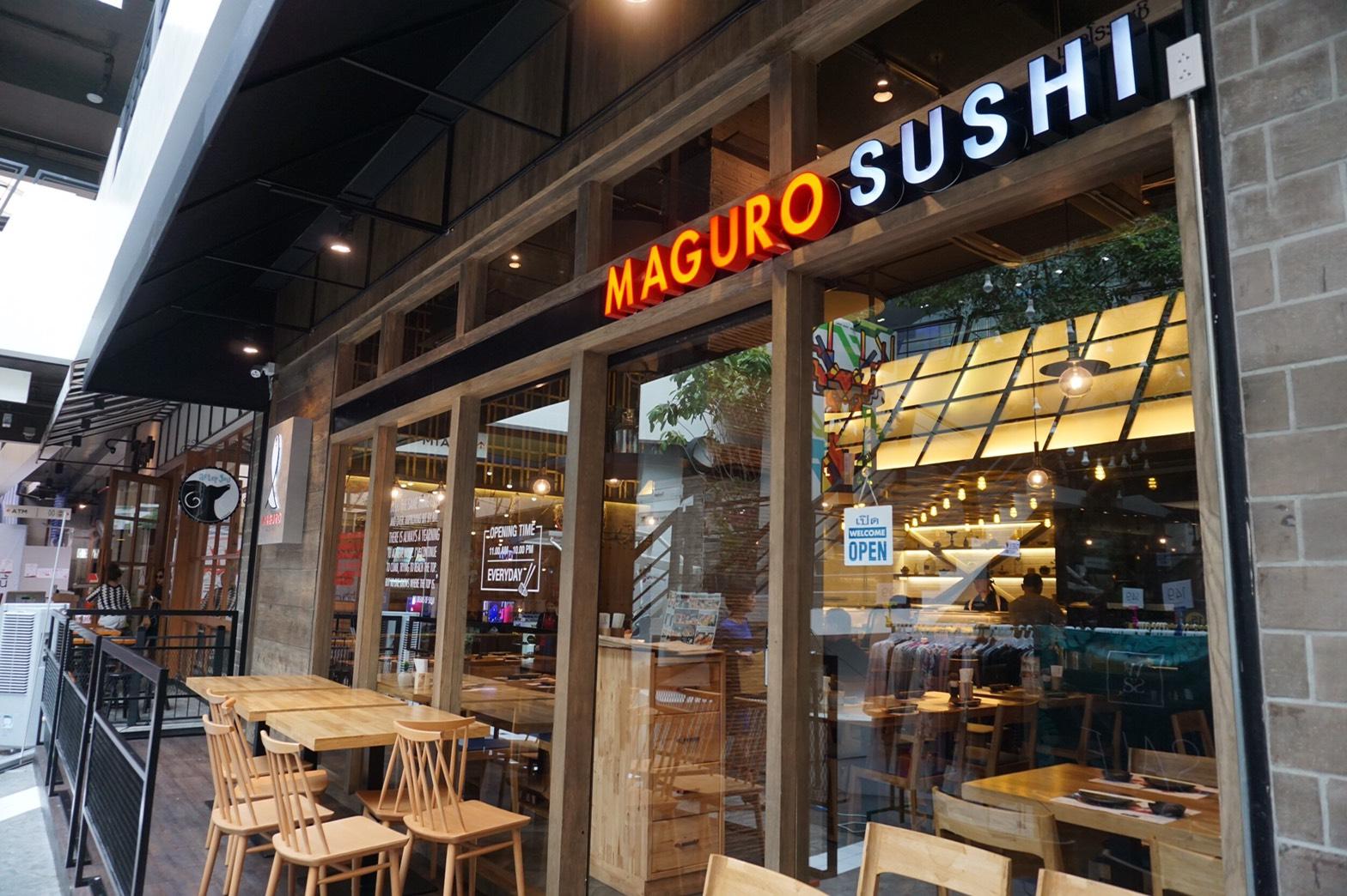 MAGURO SUSHI 外観