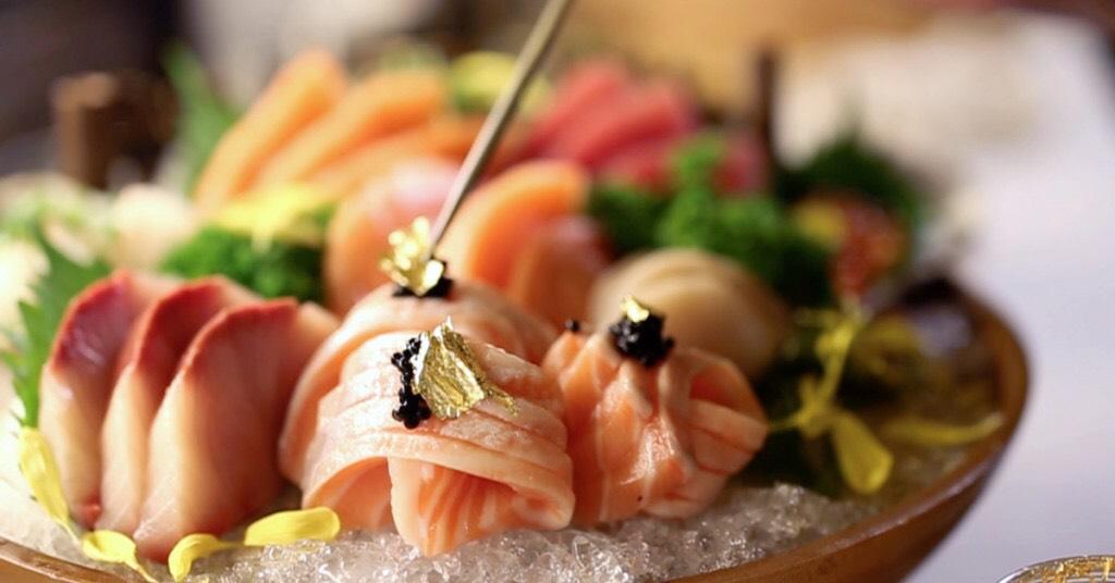 MAGURO SUSHI 7seas sashimi