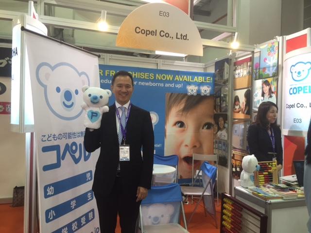 コペルは日本で1万人近い幼児の教育をこれまで行っているが、20年後には500万人への達成を目指しているという
