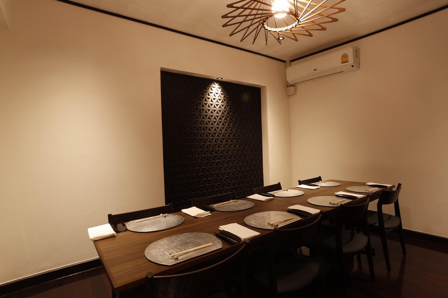 タイ人のお客様に人気の個室