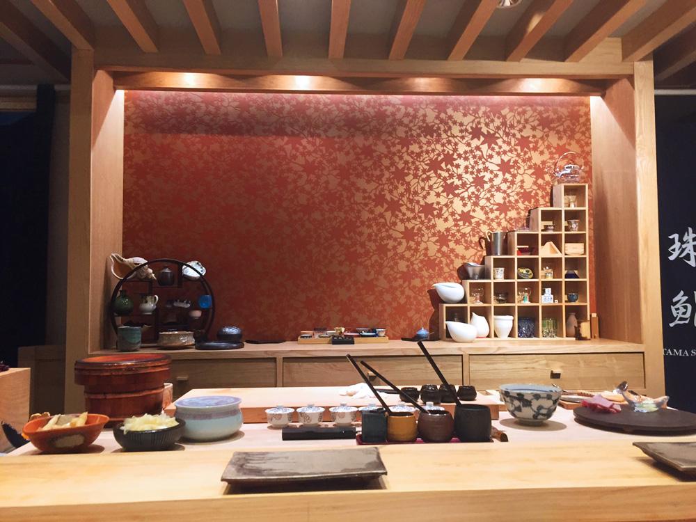 珠鮨 店内