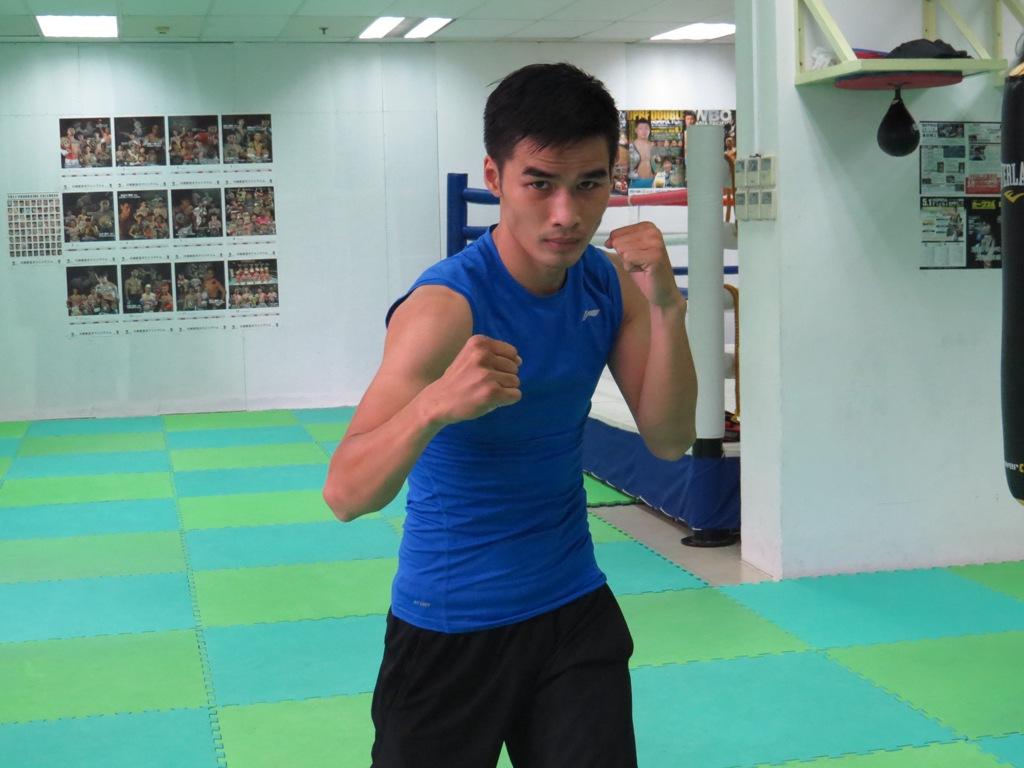 日本でプロデビューしたグエン・ゴック・ハイ選手。夢は日本でチャンピオンになることだ。