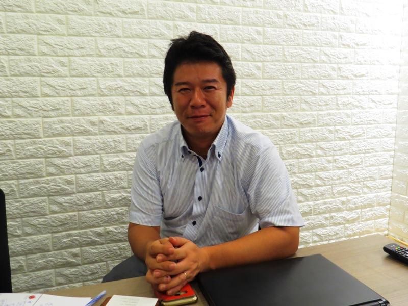 加和太建設ベトナムの藤田敬太社長