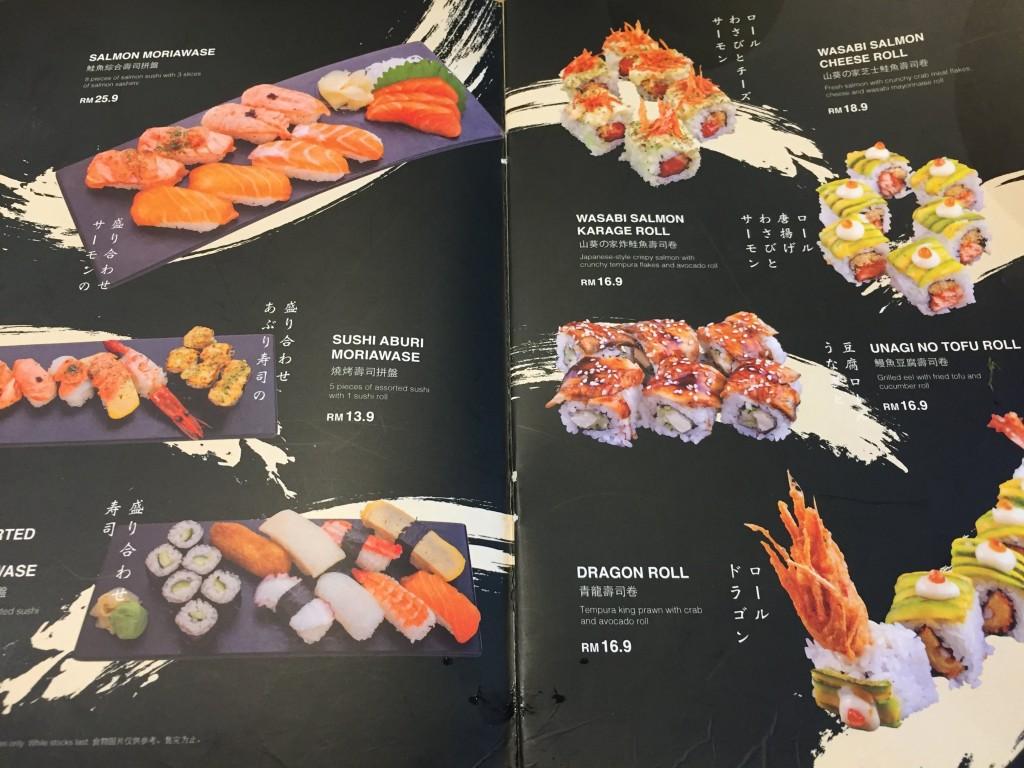 クアラルンプール寿司