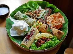 4地域のタミントゥが味わえる「タミントゥ4点盛り」。