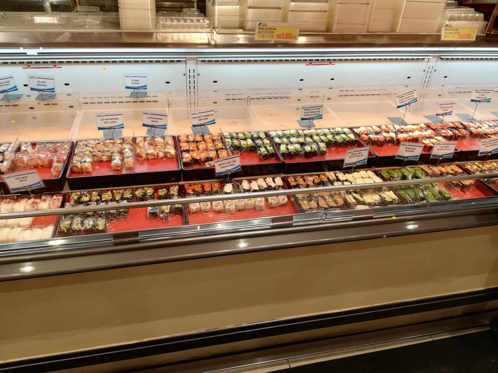 バラ売りの寿司