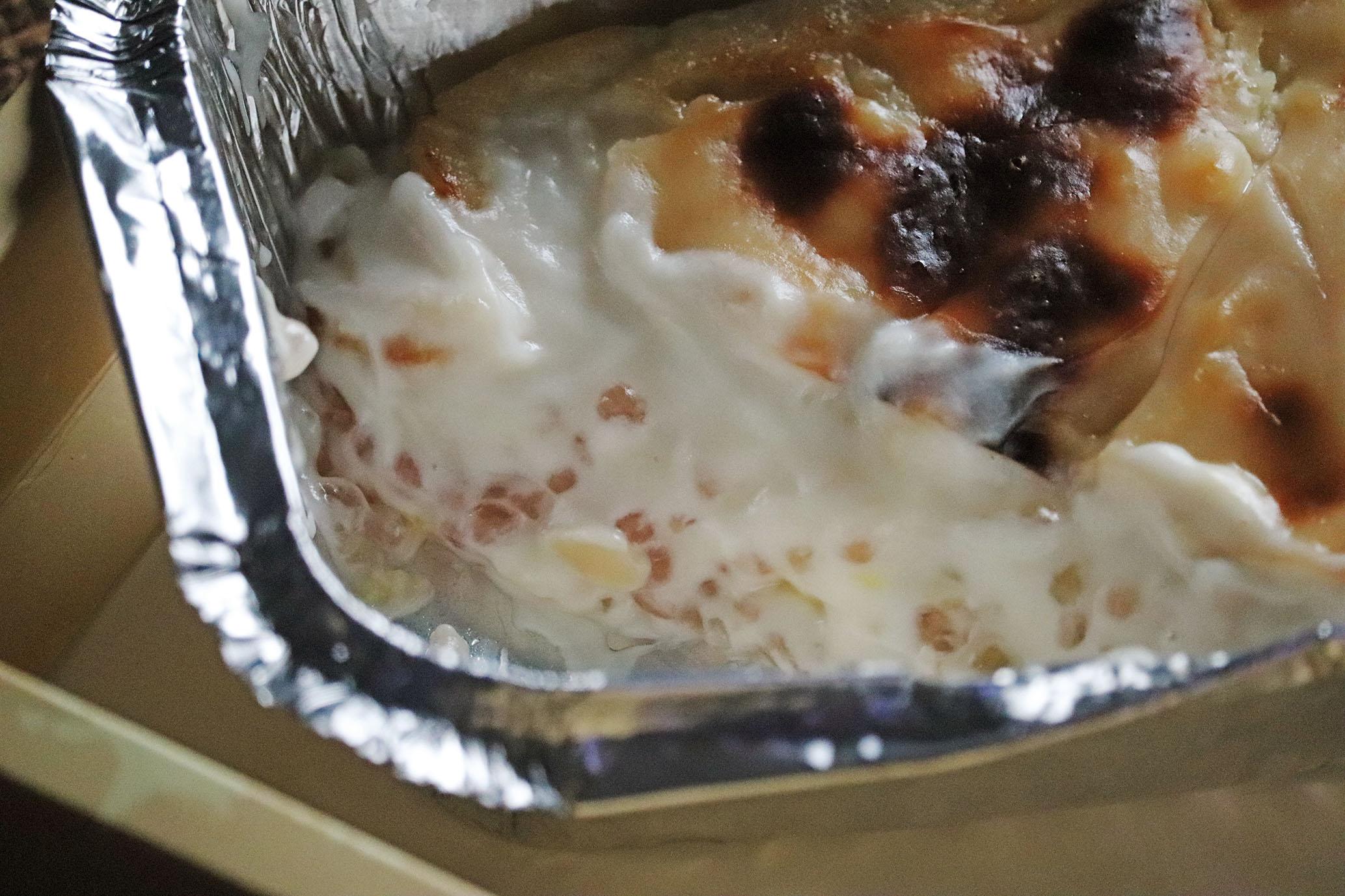 ココナッツミルククリームがたっぷりのアンブロジア製オンノオターグーの断面