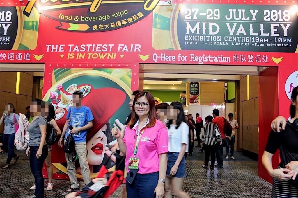 マレーシアの食エキスポ