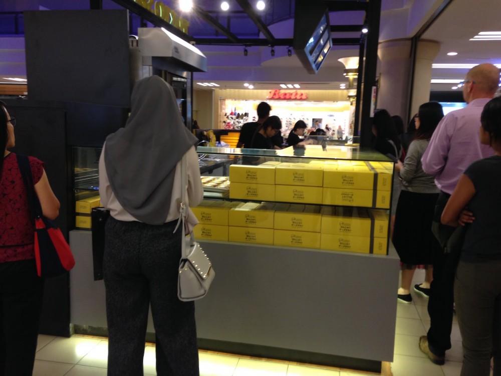 マレーシアで日本のスイーツ