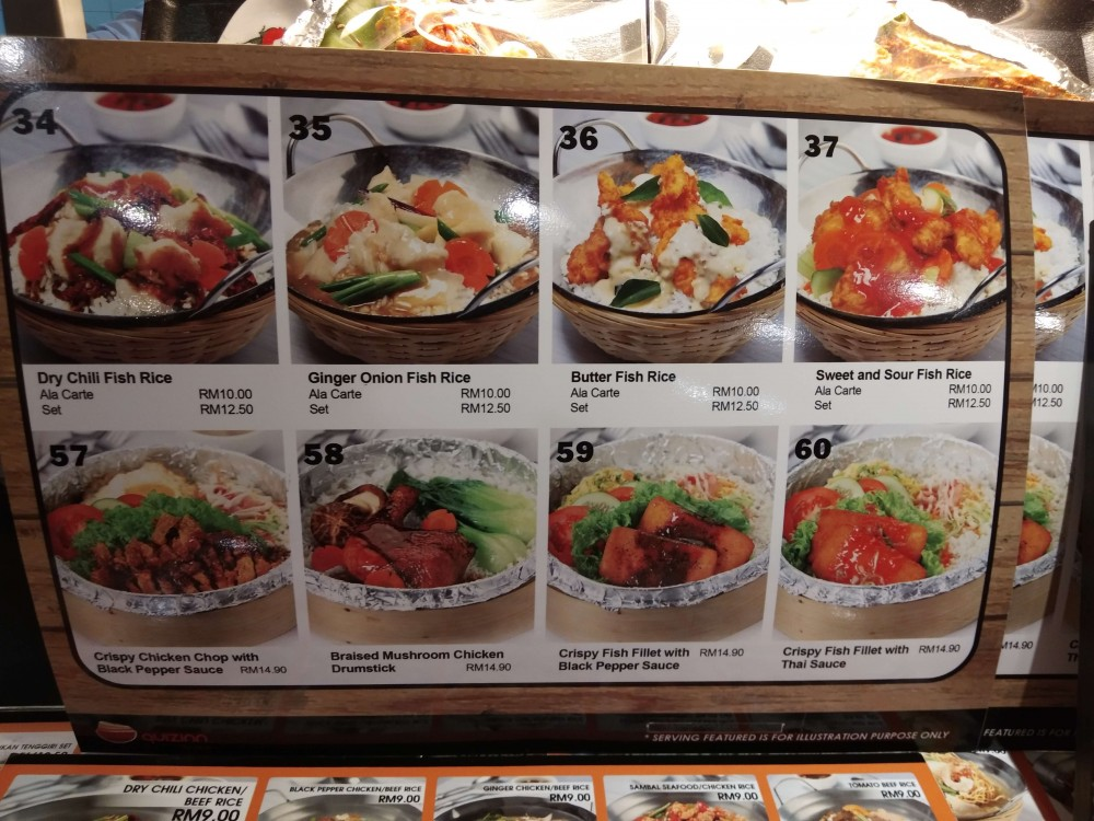 アジア中の料理が安く食べられる人気フードコート