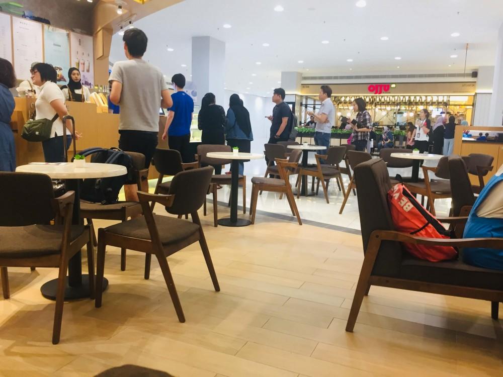 マレーシアの若い女性に人気の日本カフェ