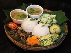ヤンゴンのカチン料理店・カチンキュイジーヌ(下記参照)のザゴータミン