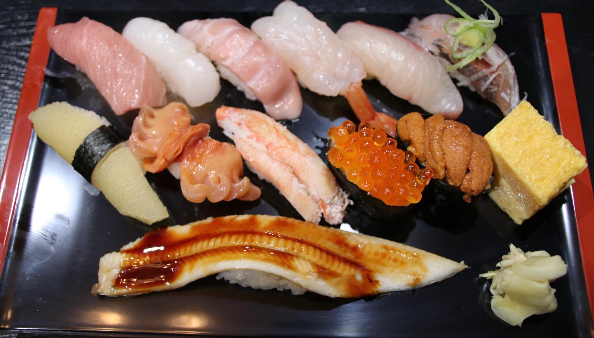 「令和特選寿司」2700円