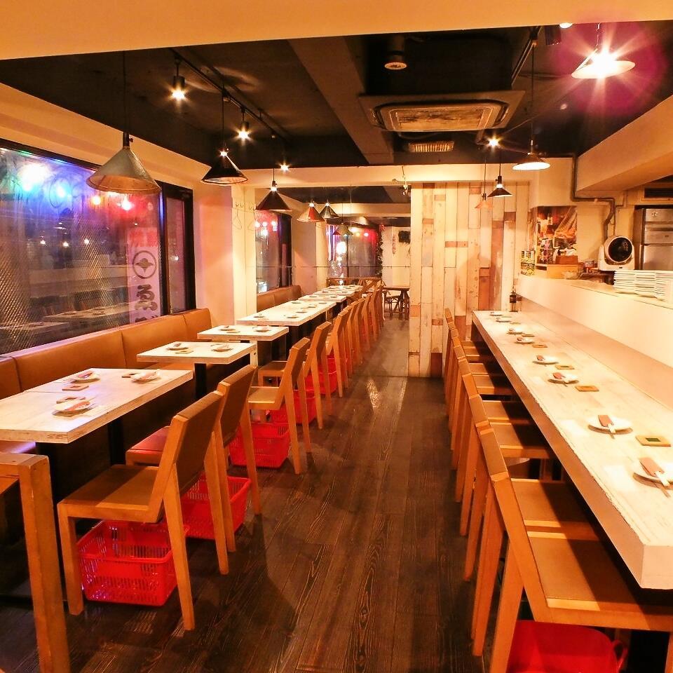 大人数でのパーティーも可能な「ガパオ食堂恵比寿店」