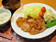 生姜焼きフリー素材