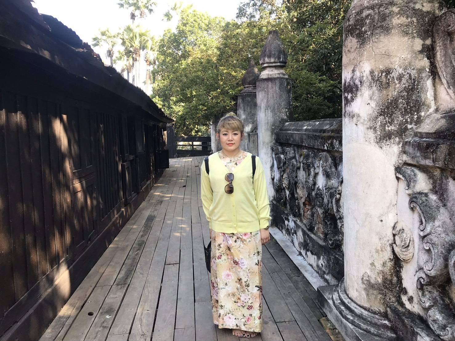 タイで旅行中の1枚