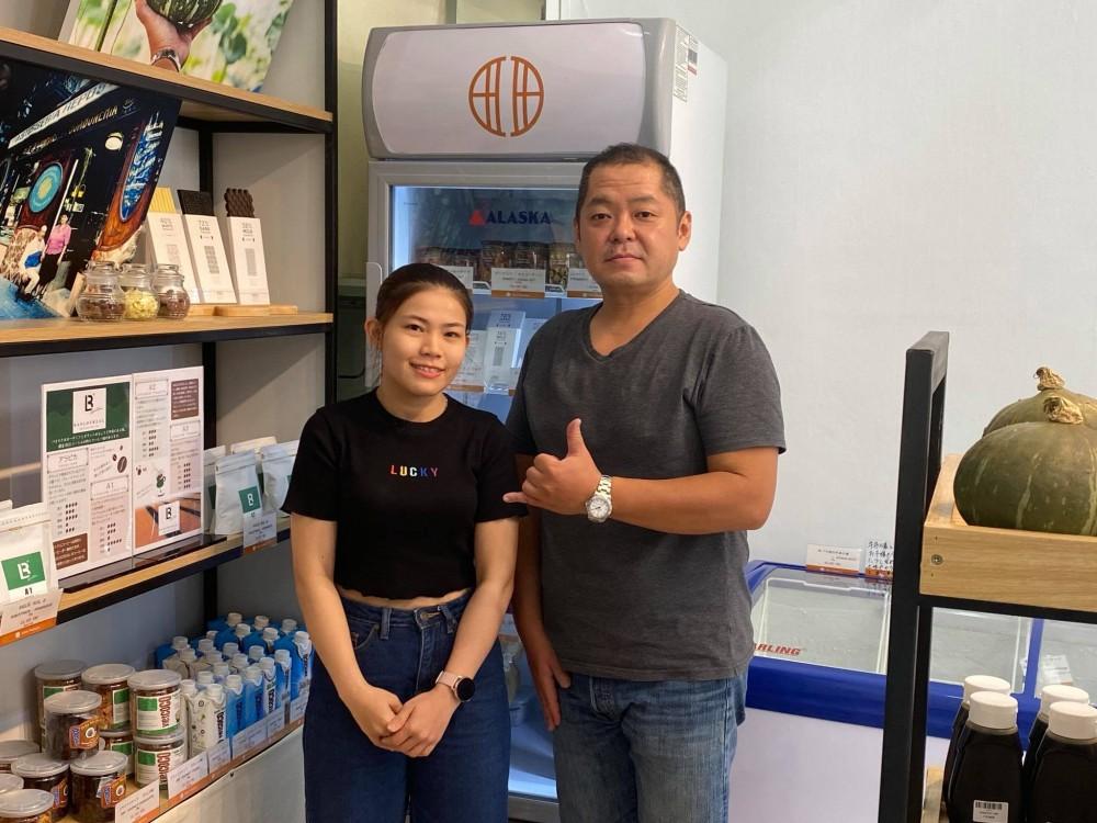 右:オーナーの池田さん