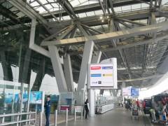 非常事態宣言が延長されて閑散としている空港